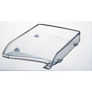 Briefkorb elegant, PS, A4, 244x335x52mm, farbl., tr