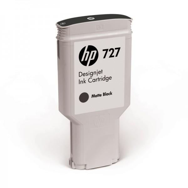HP Tinte C1Q12A 727 mattschwarz 300 ml