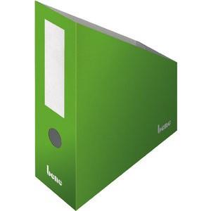 Stehsammler, Wellpappe, mit Griffloch, A4+, 100x260x320mm, grün