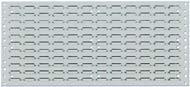Schlitzplatte 495x457 mm grau RAL 7035