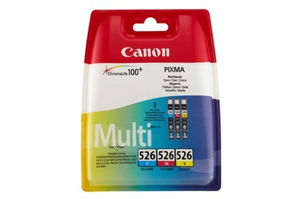 Canon Ink CLI526 Multi Pack C/M/Y