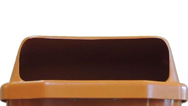Deckel für Abfallkorb orange 50 L