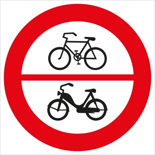 §52/8a Fahrverbot für Fahrräder und Motorfahrräder