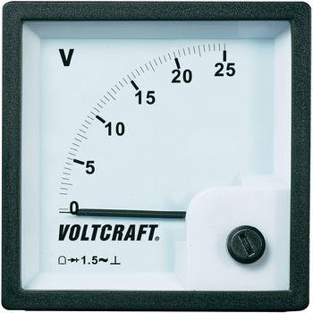 VOLTCRAFT AM-72x72/25V Analog-Einbaumess