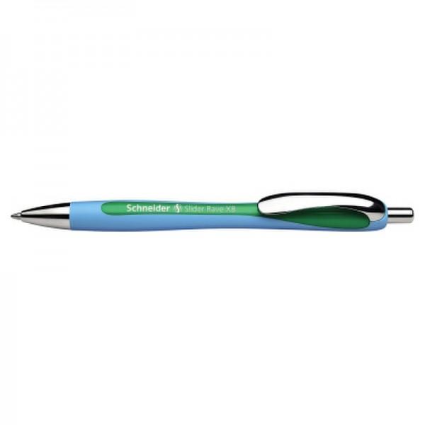 Schneider Druckkugelschreiber Slider Rave XB 132504 1mm grün