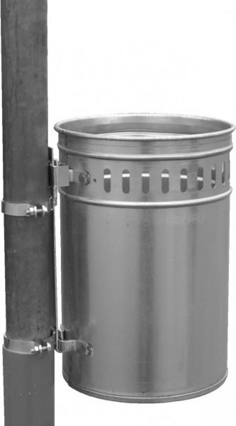Abfallbehälter 33 Liter verzinkt