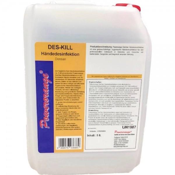 Desinfektionsmittel Nachfüllpackung 5 Liter