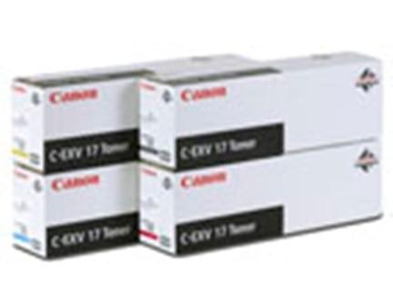 Canon Toner C-EXV17 cyan 30K