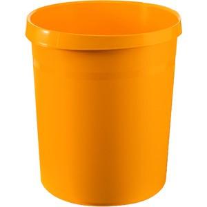 Papierkorb GRIP, PP, rund, 18l, 312x345mm, gelb