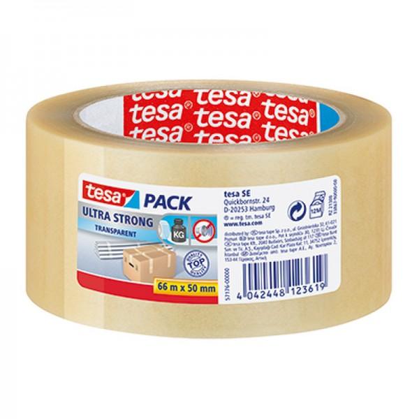 tesa Packband tesapack Ultra Strong 57176-00000 50mmx66m transparent