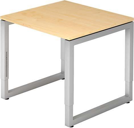 Schreibtisch R-Serie 80x80 Ahorn