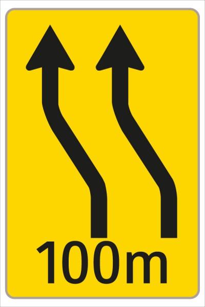 §53/16c Fahrstreifenanzeiger gelb – schwarz F10