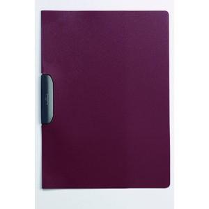 Klemmmappe DURASWING®, opaker Vorderd., A4, für: 30 Blatt, dunkelrot