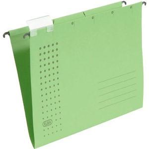 Hängemappe chic, Karton (RC), 230g/m², A4, grün