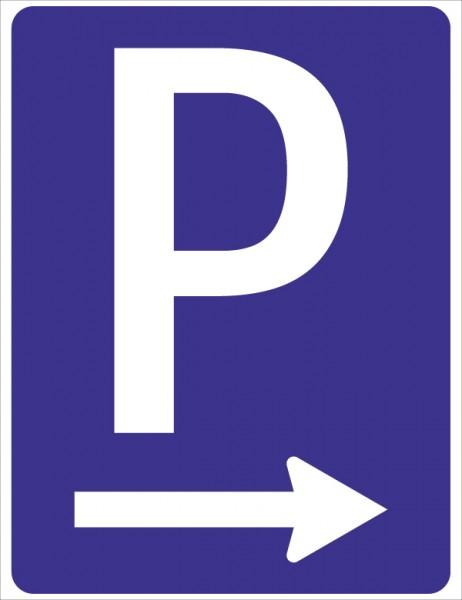 §53/1b Zum Parkplatz <--- od. -->