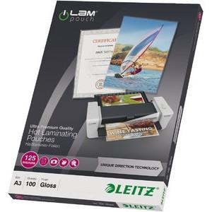 Laminiertasche iLAM UDT, A3, 0,125 mm, farblos, glänzend