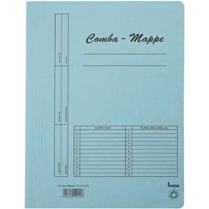 Schnellhefter Comba-Mappe, Karton (RC), A4, blau