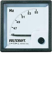 VOLTCRAFT AM-72X72/50HZ Analog-Einbaumes