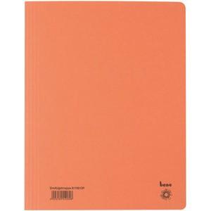 Einschlagmappe, Karton (RC), 3 Klappen, A4, für: 250 Blatt, orange