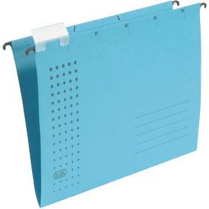 Hängemappe chic, Karton (RC), 230g/m², A4, blau