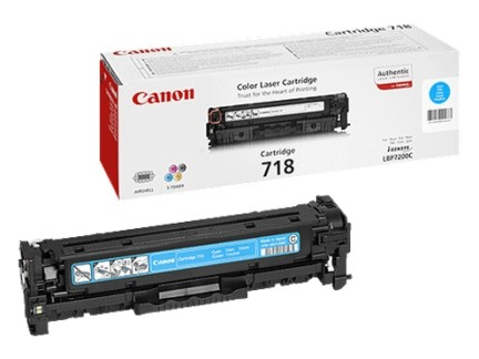 Canon Cartridge EP-718 black 1x2
