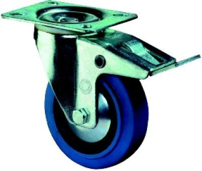 Lenkrolle mit Feststeller LS420.B61.125 | 140 kg, 115x85 mm