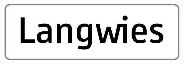 Ortsbezeichnungstafel
