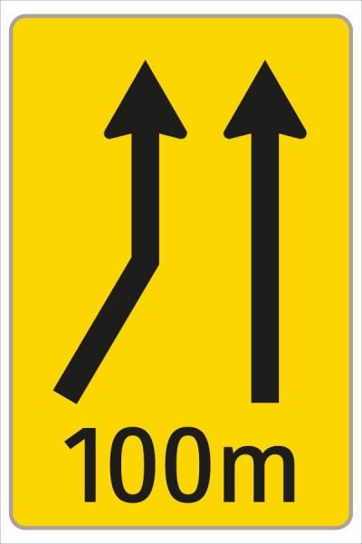 §53/16c Fahrstreifenanzeiger gelb – schwarz F15