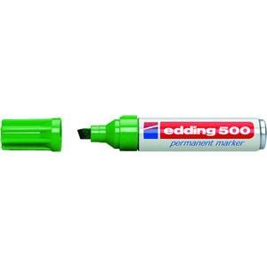 Permanentmarker 500, Keilspitze, 2 - 7 mm, Schreibf.: grün