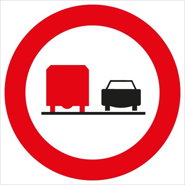 §52/4c Überholen für LKW verboten
