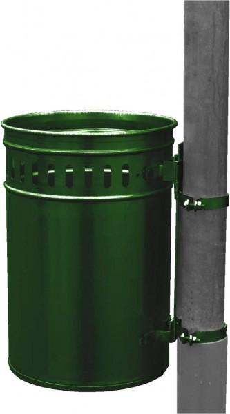 Abfallbehälter 33 Liter in RAL grün lackiert