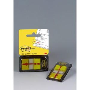 Haftmarker 680, mit Symbol, Ausrufezeichen, 25,4 x 43,2 mm, gelb