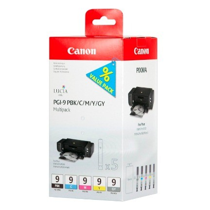 Canon Ink Multi Pack PBK/C/M/Y/GY