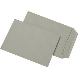Versandtasche, o.Fe., gum, C5, 162x229mm, 80g/m², RC, grau