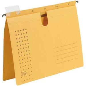Hängehefter chic, Karton (RC), kaufmännische Heftung, A4, gelb