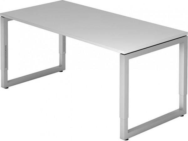 Schreibtisch R-Serie 160x80 grau