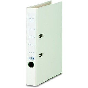 Ordner Color, PP, Einsteckrückenschild, A4, 50 mm, weiß