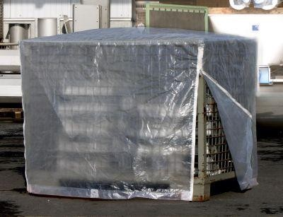 Abdeckhaube - Gitterbox, Transparent