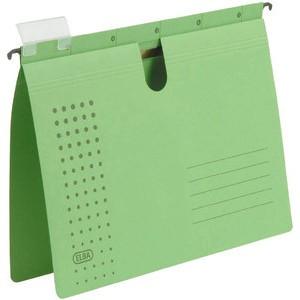 Hängehefter chic, Karton (RC), kaufmännische Heftung, A4, grün