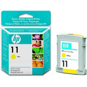 Tintenpatrone 11, C4838AE, original, gelb, 28 ml, 1.750 Seiten