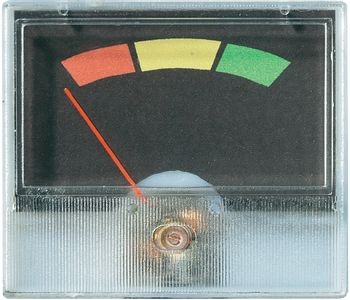 VOLTCRAFT AM-49X27 Einbau-Messgerät AM-4