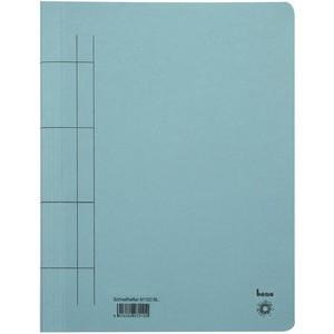 Schnellhefter, Karton (RC), 1/1 Vorderdeckel, A4, blau
