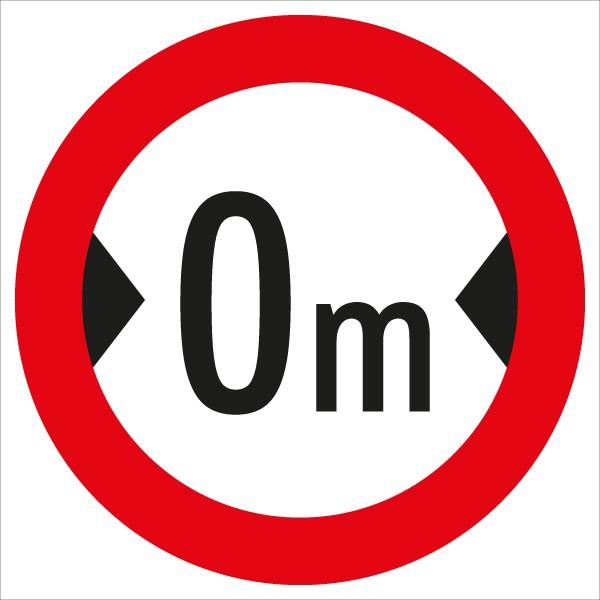 §52/9a Fahrverbot für über ...m breite Fahrzeuge