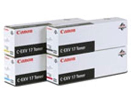 Canon Toner C-EXV17 yell. 30K