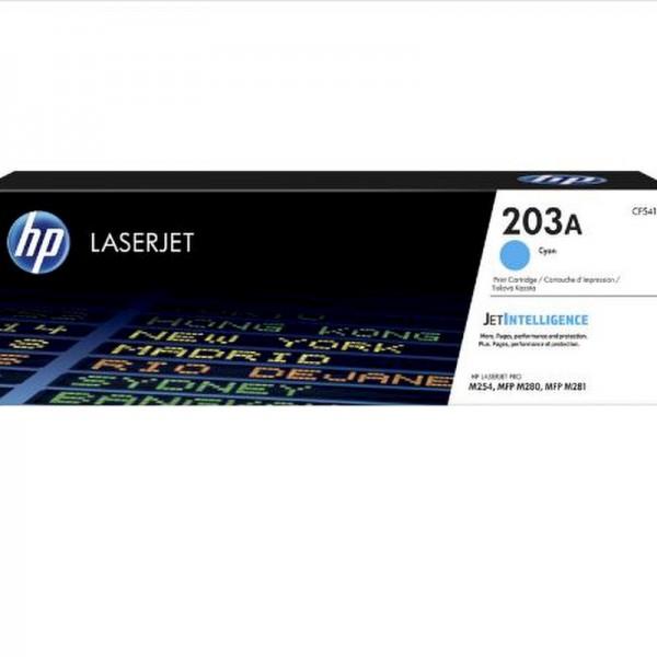 HP Toner CF541A 203A Cyan 1.300 Seiten