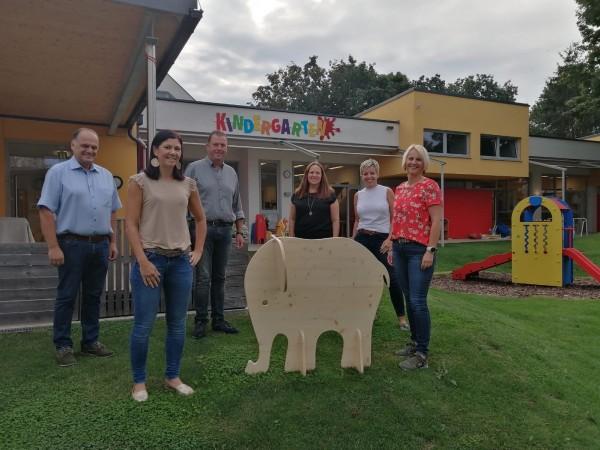 Baby Elefant Holz
