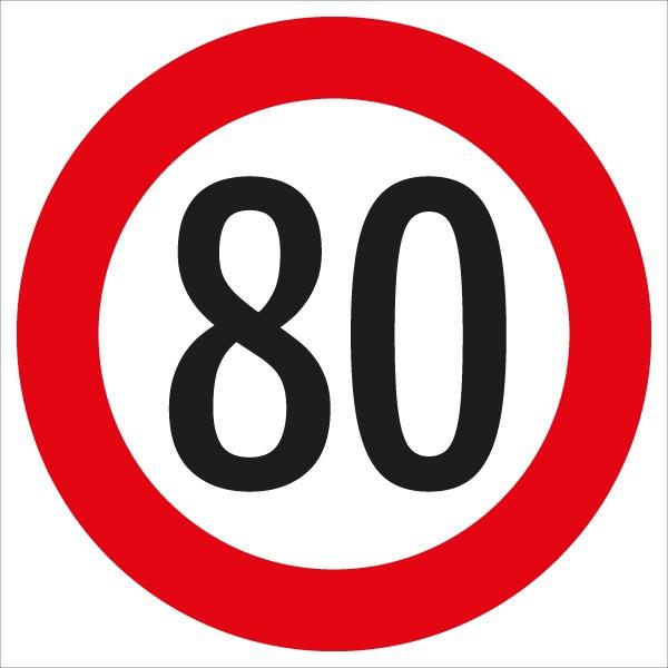§52/10a Geschwindigkeitsbegrenzung 80 km/h