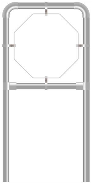 Rohrrahmen CF2. 940x940 mm