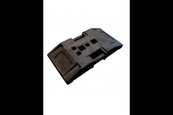 TL-Fußplatte Typ K1, nicht für Baken zugelassen