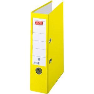 Ordner Color, PP, Einsteckrückenschild, A4, 80 mm, gelb
